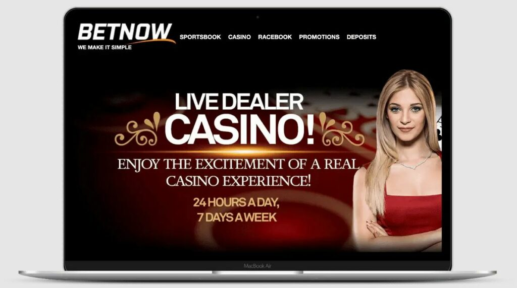 Betnow casino application